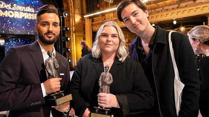 Vinnare i Barncancergalan - Det svenska humorpriset