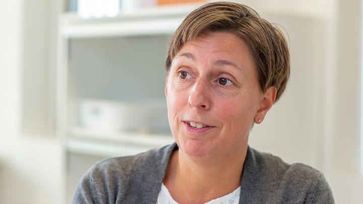 Lena Nordström, mamma till Oskar