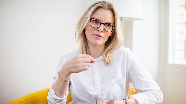Specialpedagog Elin S Kleist som hjälper Oskar