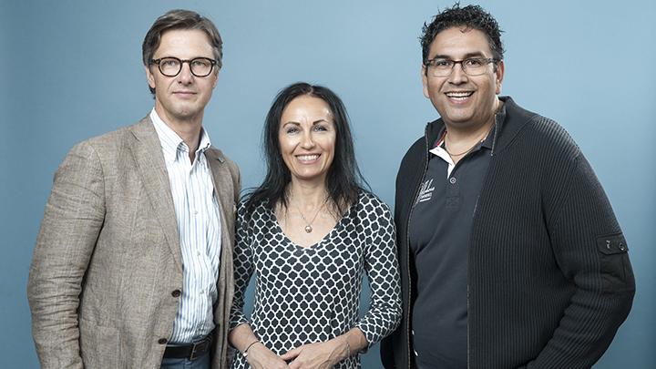 Fredrik Uhrström, Annika Brocknäs, Rudolfo Varga. Frånvarande Jonas Fahlman.