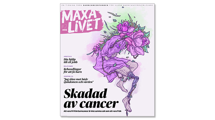 Tidningen Maxa livet september 2016