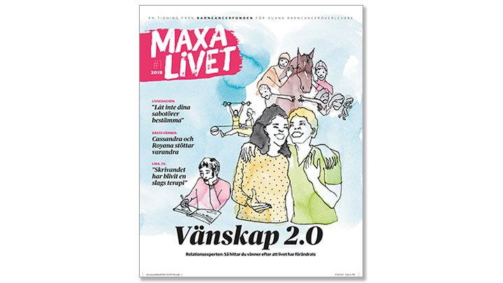 Tidningen Maxa livet april 2019