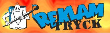 logotyp REKLAMTRYCK