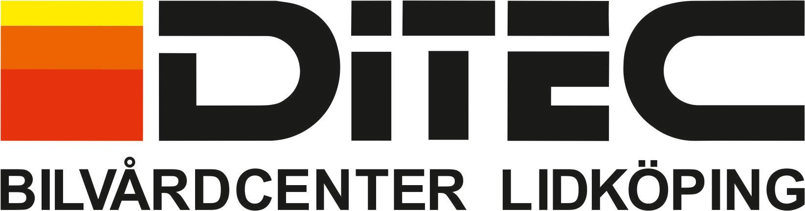 logotyp Ditec Bilvårdcenter Lidköping