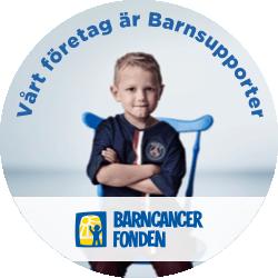 Barnsupporter Företag Webbknapp
