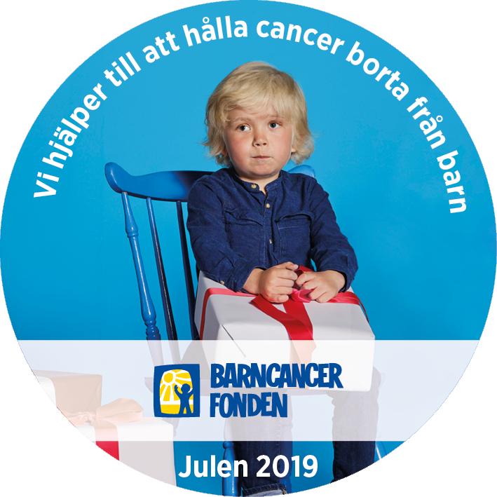 Barncancerfondens Julknapp 2017