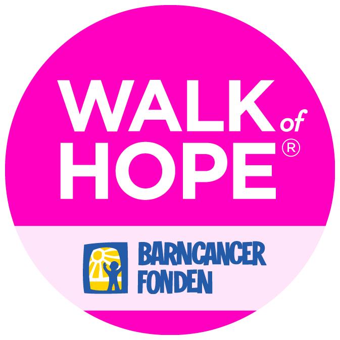 Walk of hope 2019 | Barncancerfonden