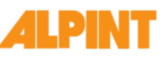 logotyp Alpint