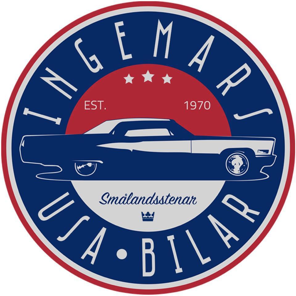 logotyp Ingemars USA-bilar
