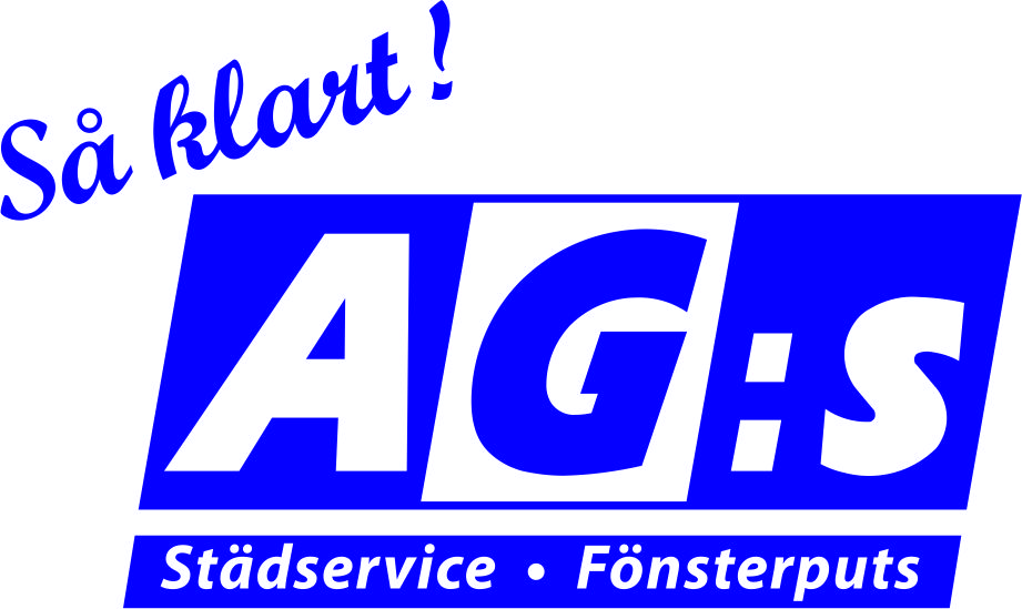 logotyp AG:s Städservice & Fönsterputs