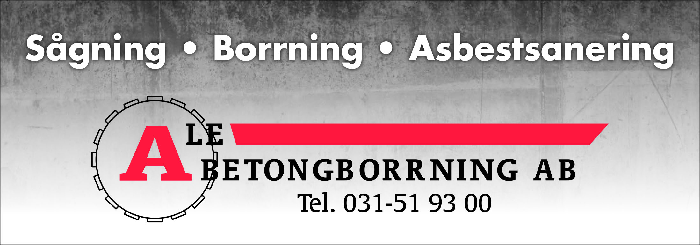 logotyp Ale betongborrning AB