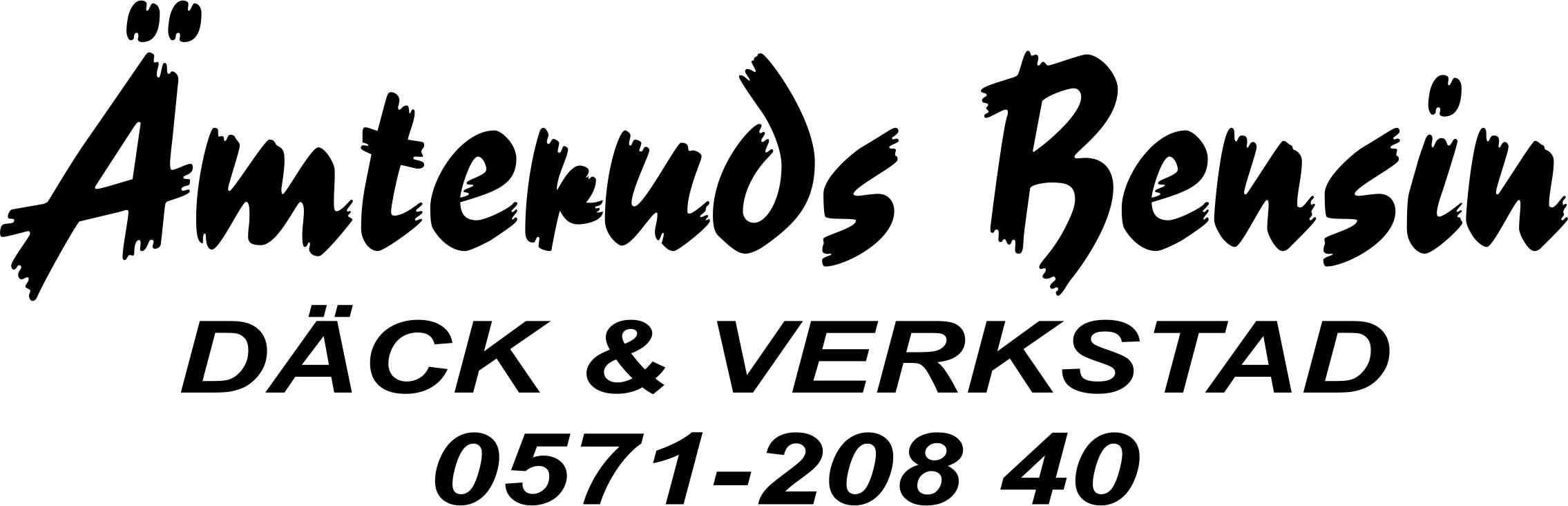 logotyp ÄMTERUDS BENSIN AB