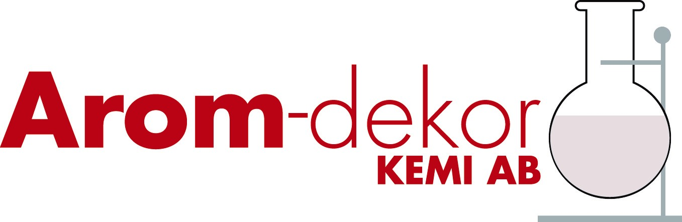 logotyp Arom-dekor Kemi AB