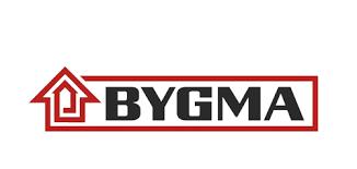 logotyp BYGMA AB, TYRESÖ