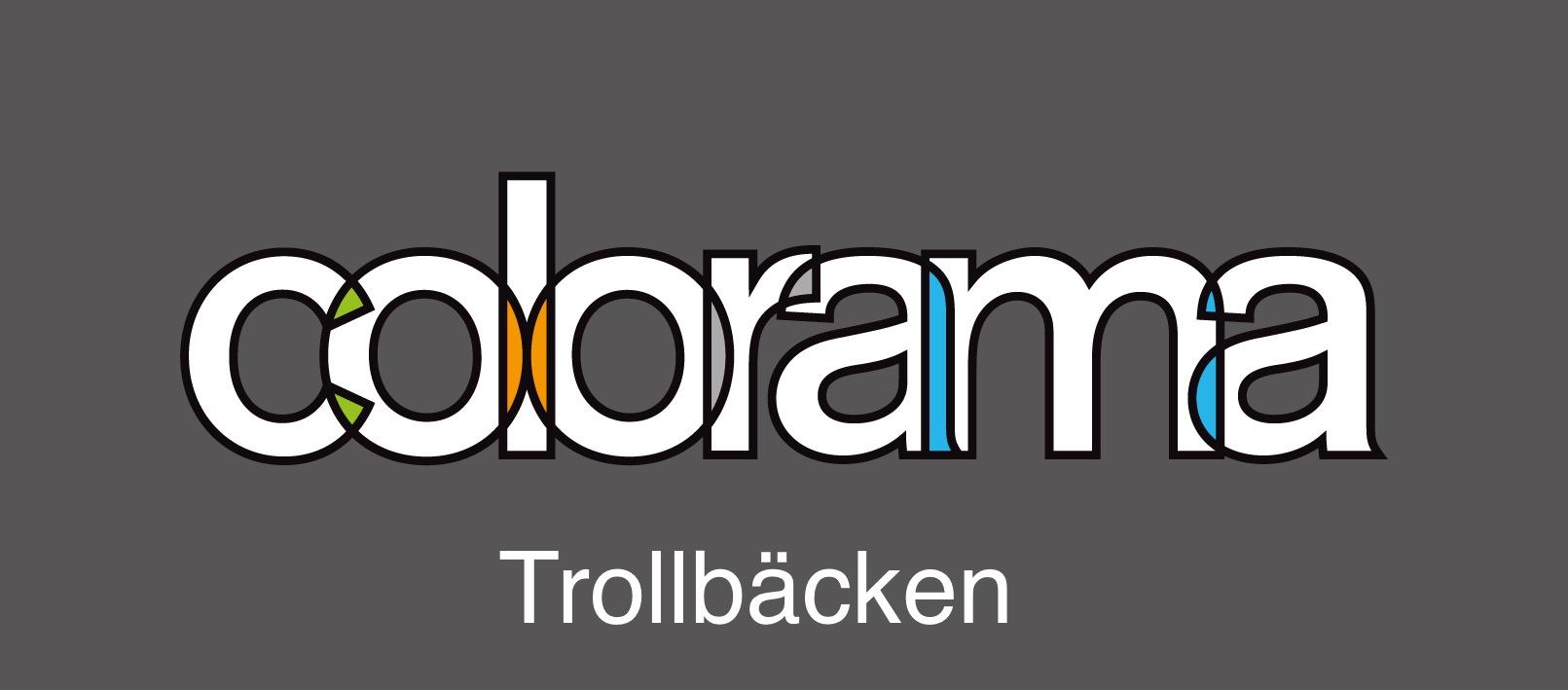 logotyp Trollbäcken Färg & Design AB