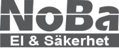 logotyp NoBa El & Säkerhet AB
