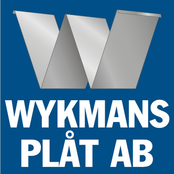 logotyp Wykmans plåt AB