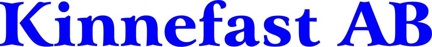 logotyp Kinnefast AB