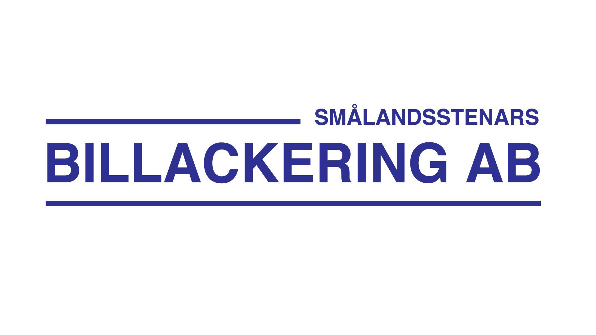 logotyp Smålandsstenars Billackering AB