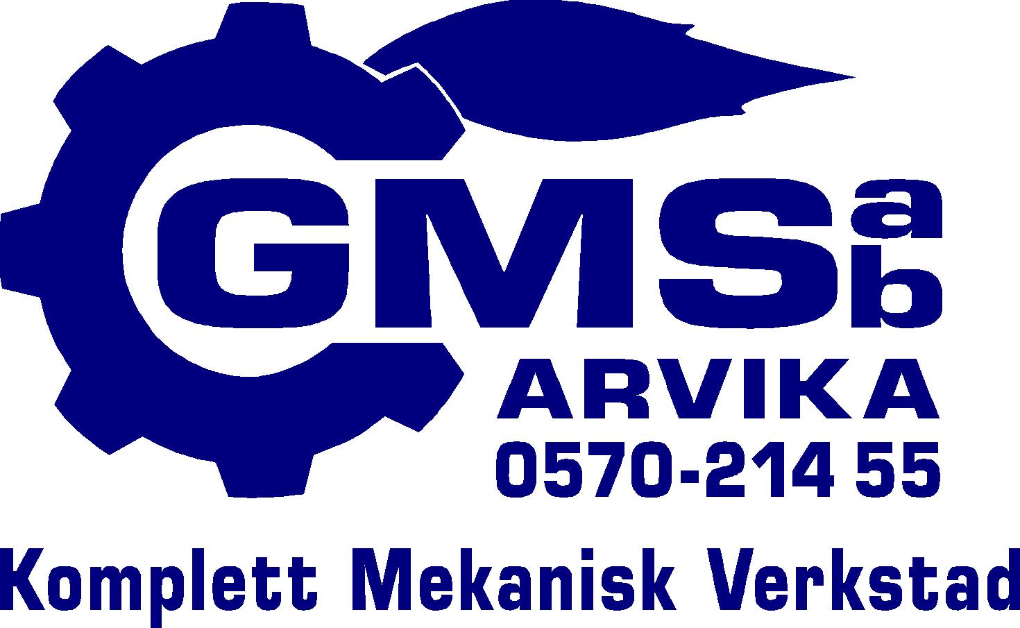 logotyp Glafsfjordens Maskin & Svets AB